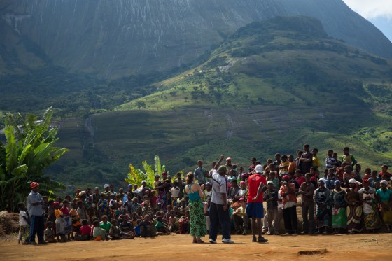 Carruca Community Celebration with the Lost Mountain Team in Zambezia Province, Mozambique (Photo By James Q Martin)